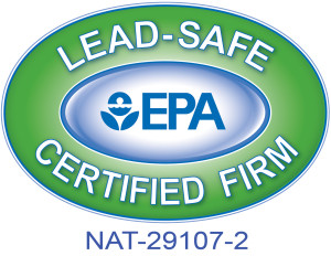 Lead-Safe EPA Certified Firm - NAT-29107-2